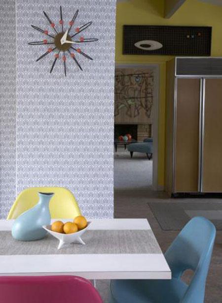 افكار تصاميم ورق جدران حديثة 20135