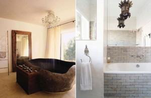 تصاميم حمامات عصرية حجرية مميزة1