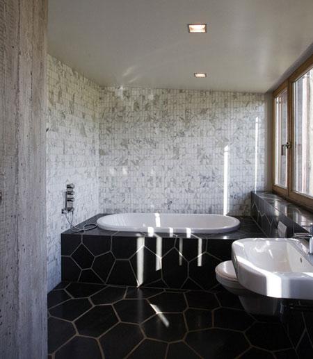 تصاميم حمامات عصرية حجرية مميزة11