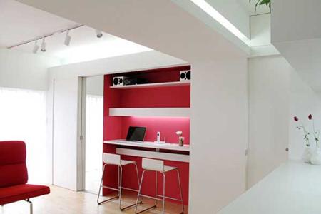 استغلال كامل المساحات المتاحة في الشقة