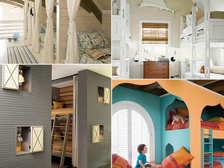 تصاميم غرف اطفال مشتركة ثلاثة اطفال و اكثر3