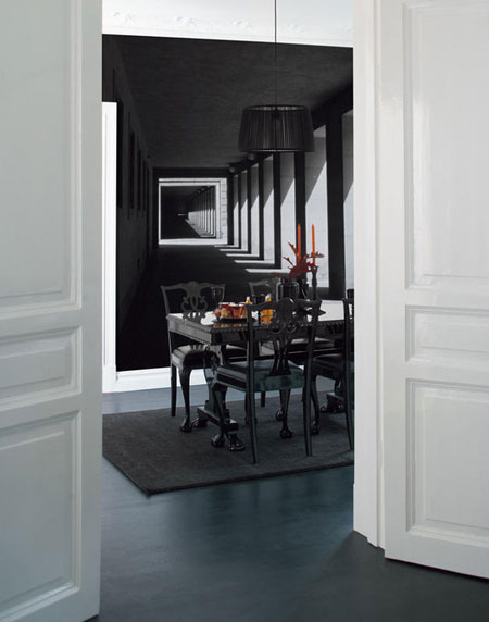 ديكورات حائط برسومات فنية رائعة تتناسب مع التصميم الداخلي للمنزل2