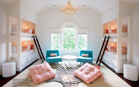 تصاميم غرف اطفال مشتركة ثلاثة اطفال و اكثر2