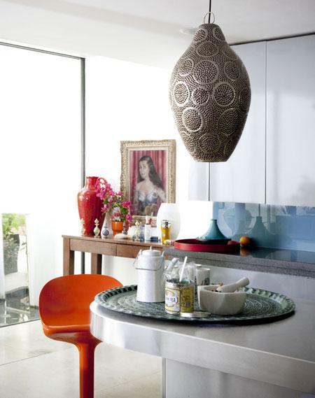 افكار ادخال التصميمات المعدنية في الديكور المنزلي4