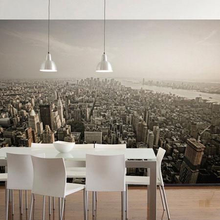 ديكورات حائط برسومات فنية رائعة تتناسب مع التصميم الداخلي للمنزل1