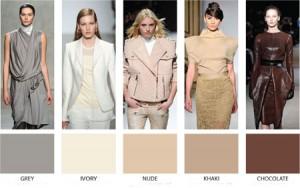 الوان الموضة لخريف وشتاء 2013 الالوان الاساسية