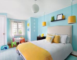 انشاء غرفة اطفال ملونة بافكار رائعة