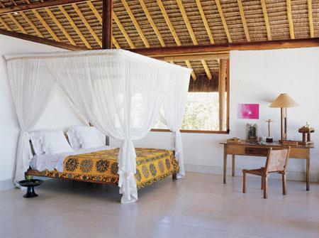 افكار تصاميم غرف نوم بمظلة فوق السرير3