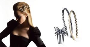 اكسسوارات الشعر من الكسندر دي باريس لشتاء 20121