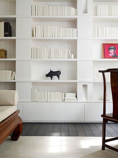 افكار تصاميم مكتبة كتب منزلية مميزة3