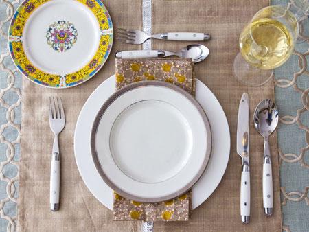 افكار لتزيين طاولة السفرة3