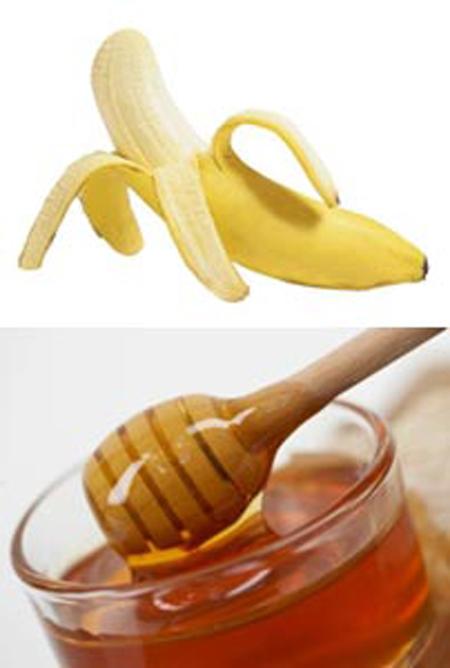 قناع الموز والعسل