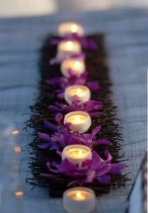 كيفية تزيين الطاولة بتنسيق زهور غريبة1