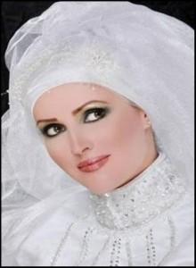 اخر موديلات حجاب العروس لعام 2012 و20131