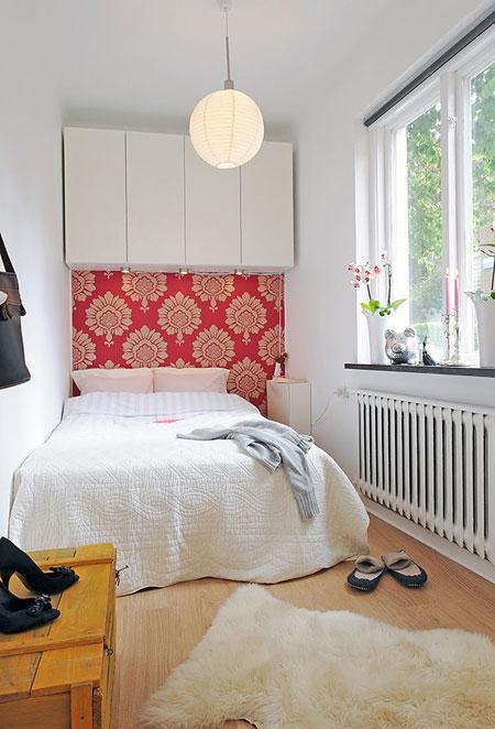 تصاميم غرف نوم صغيرة جدا3