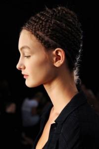 اجمل تسريحات الشعر المزين بضفيرة الجدايل لعام 20121