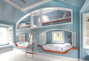 تصاميم غرف اطفال مشتركة ثلاثة اطفال و اكثر