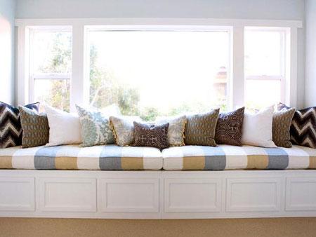 8 افكار تصاميم مقاعد اسفل النوافذ7