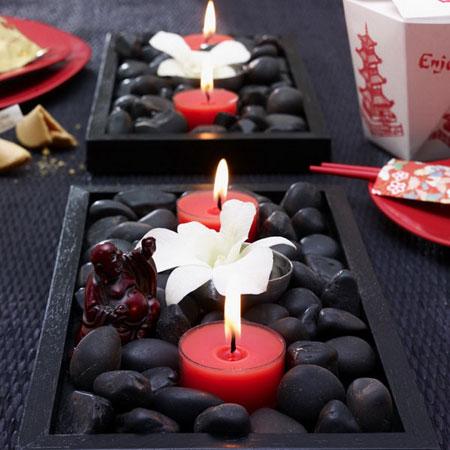 كيفية تزيين الطاولة بتنسيق زهور غريبة14