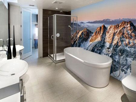 ديكورات حائط برسومات فنية رائعة تتناسب مع التصميم الداخلي للمنزل