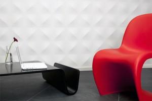 افكار تصاميم ديكورات جدران ثلاثية الابعاد1