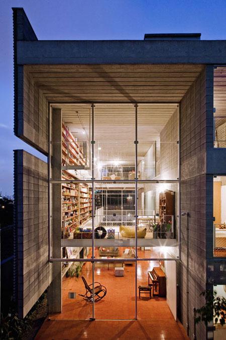 افكار تصاميم مكتبة كتب منزلية مميزة5