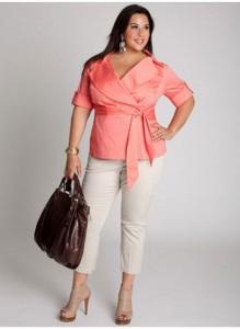 موديلات ملابس عصرية للنساء البدينات 1