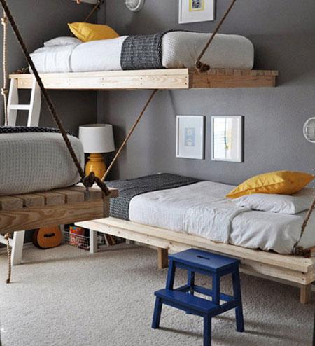 تصاميم غرف اطفال مشتركة ثلاثة اطفال و اكثر8