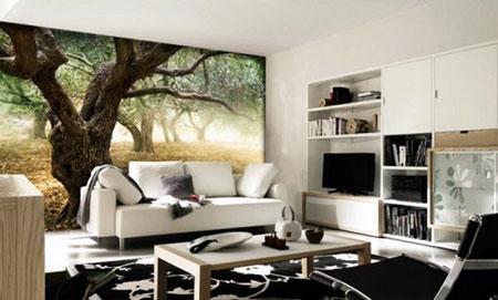ديكورات حائط برسومات فنية رائعة تتناسب مع التصميم الداخلي للمنزل8