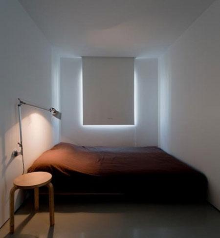 تصاميم غرف نوم صغيرة جدا12