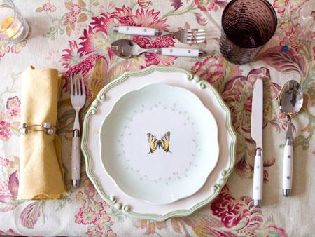 افكار لتزيين طاولة السفرة11