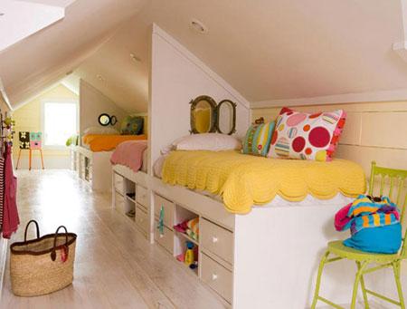 تصاميم غرف اطفال مشتركة ثلاثة اطفال و اكثر6