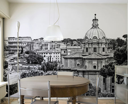 ديكورات حائط برسومات فنية رائعة تتناسب مع التصميم الداخلي للمنزل6