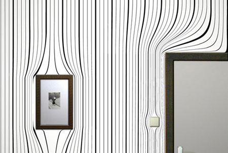 ديكورات حائط برسومات فنية رائعة تتناسب مع التصميم الداخلي للمنزل4