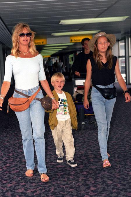 كيت هدسون بعمر 12 سنة Kate Hudson