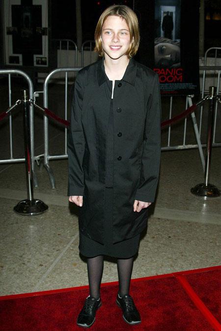 كريستيان ستيوارت بعمر 12 عام Kristen Stewart