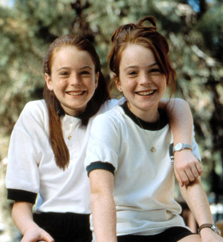 ليندزي لوهان عام 1998 Lindsay Lohan