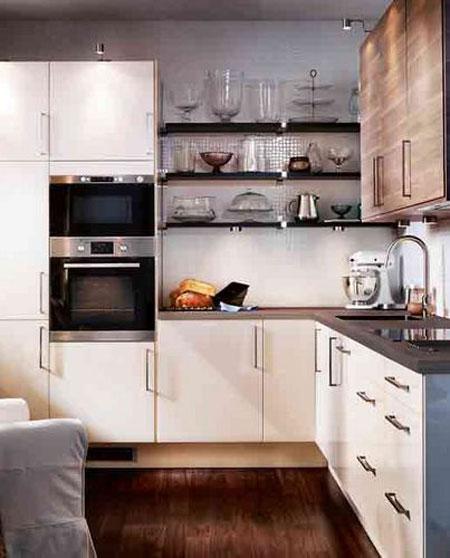 تنوع المواد المستخدمة في تصنيع اثاث المطبخ من ايكيا