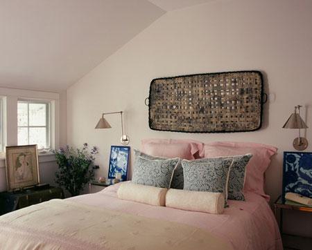 افكار ديكور جدران غرف النوم اللون الفاتح12