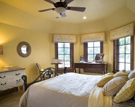 تصاميم غرف نوم لون  اصفر5