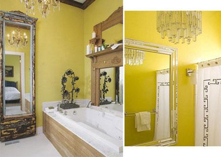 تصاميم حمام باللون الاصفر8