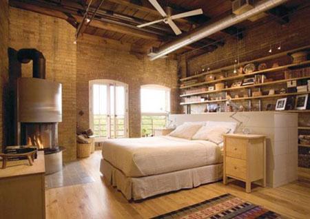افكار رائعة لاستخدام المساحة خلف السرير3
