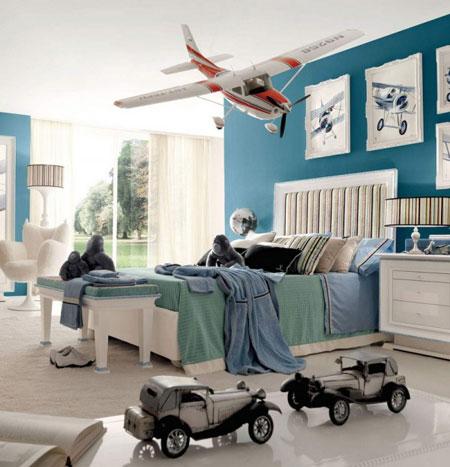 تصاميم غرف خاصة للاولاد4