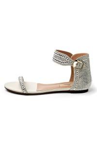 موديلات احذية كعب واطي من فالنتينو Valentino لربيع 2013