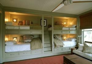 تصاميم غرفة اطفال مع سرير علوي لوفت1