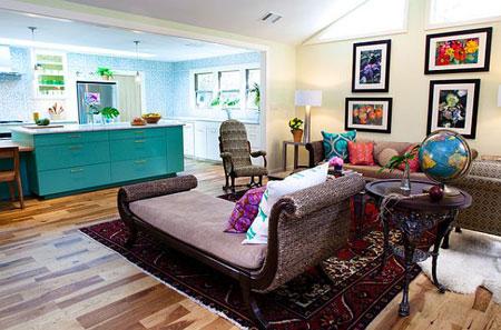 طرق بسيطة لاضافة اللون المستمر في منزلك2