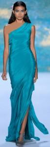 فستان من مونيك ولييه لربيع وصيف 2013