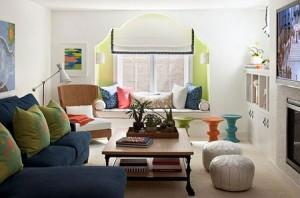 طرق بسيطة لاضافة اللون المستمر في منزلك1