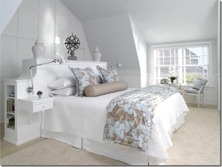 افكار رائعة لاستخدام المساحة خلف السرير1