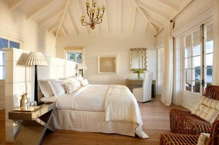 افكار رائعة لاستخدام المساحة خلف السرير9